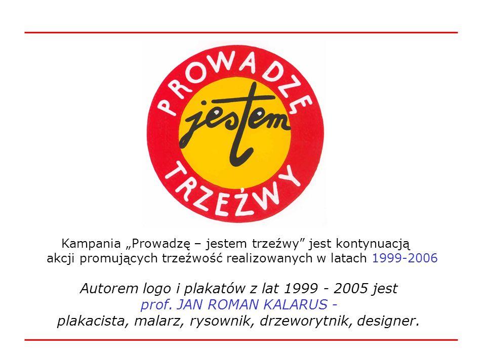 Autorem logo i plakatów z lat 1999 - 2005 jest