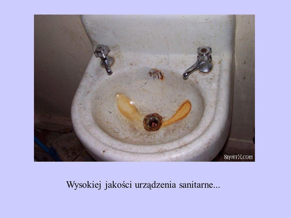 Wysokiej jakości urządzenia sanitarne...