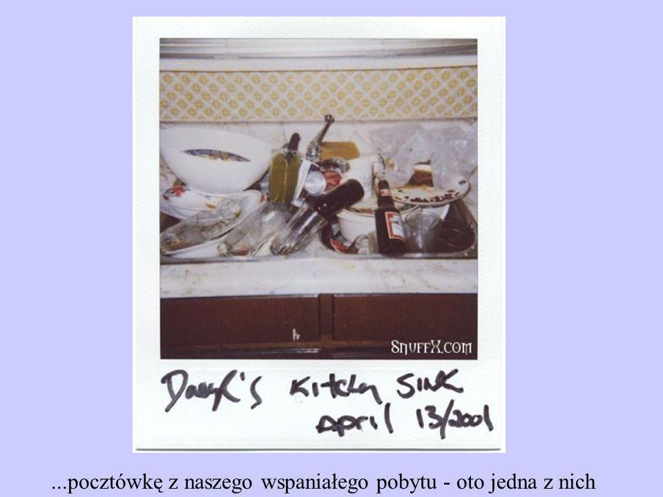 ...pocztówkę z naszego wspaniałego pobytu - oto jedna z nich