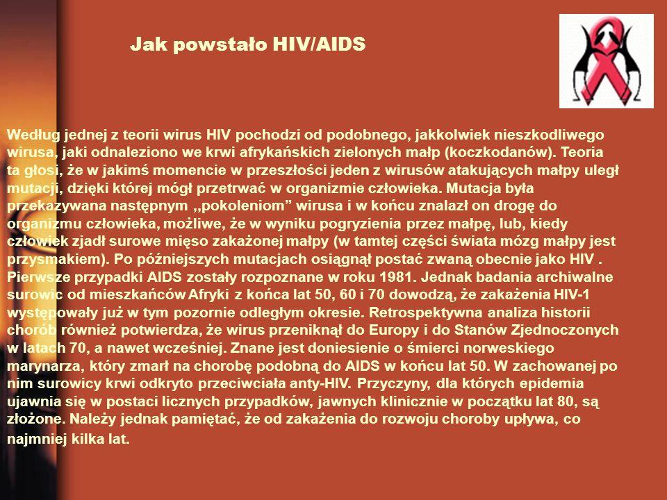 Jak powstało HIV/AIDS