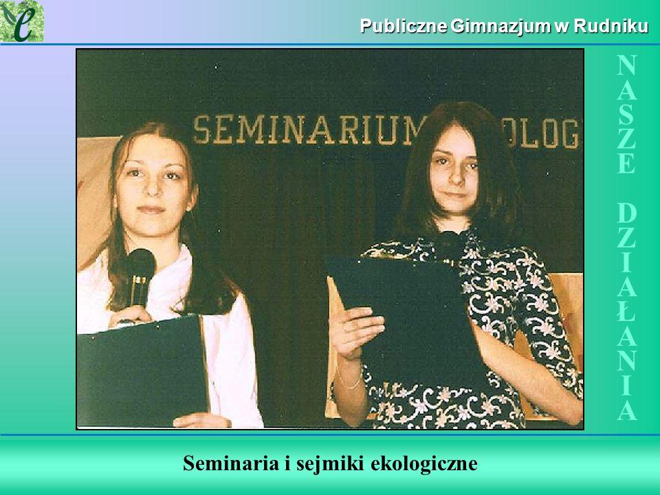 Seminaria i sejmiki ekologiczne