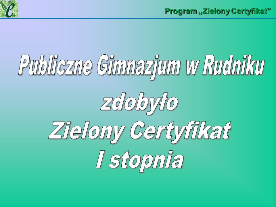 Publiczne Gimnazjum w Rudniku