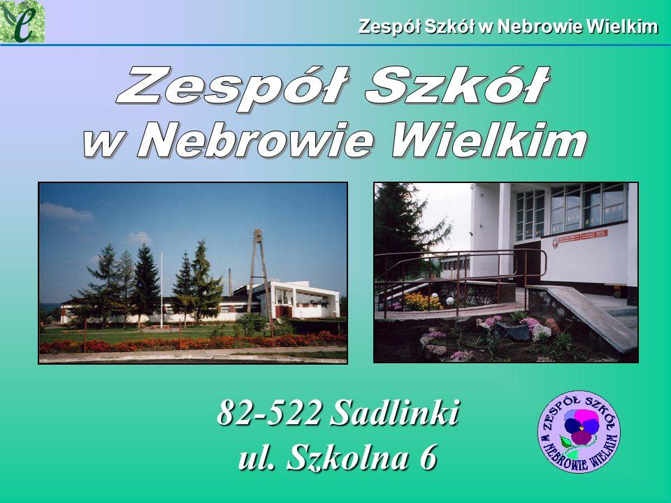 82-522 Sadlinki ul. Szkolna 6 Zespół Szkół w Nebrowie Wielkim