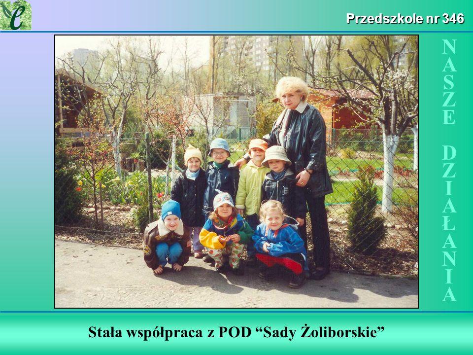 Stała współpraca z POD Sady Żoliborskie