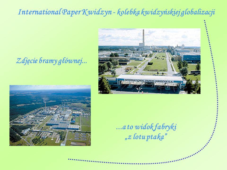 International Paper Kwidzyn - kolebka kwidzyńskiej globalizacji