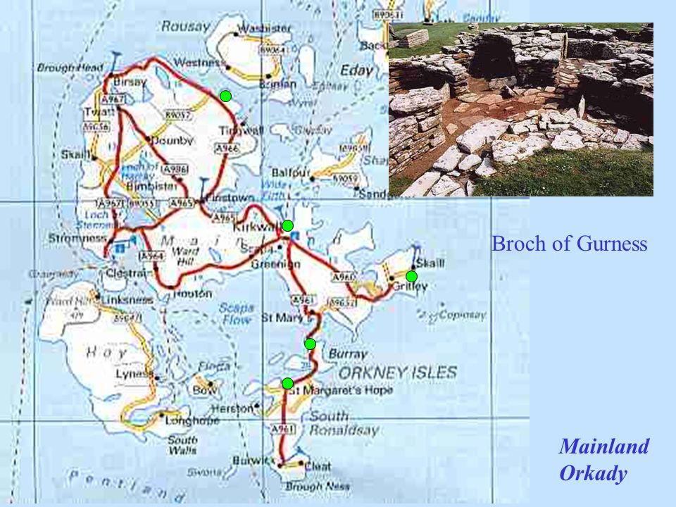 Broch of Gurness Mainland Orkady