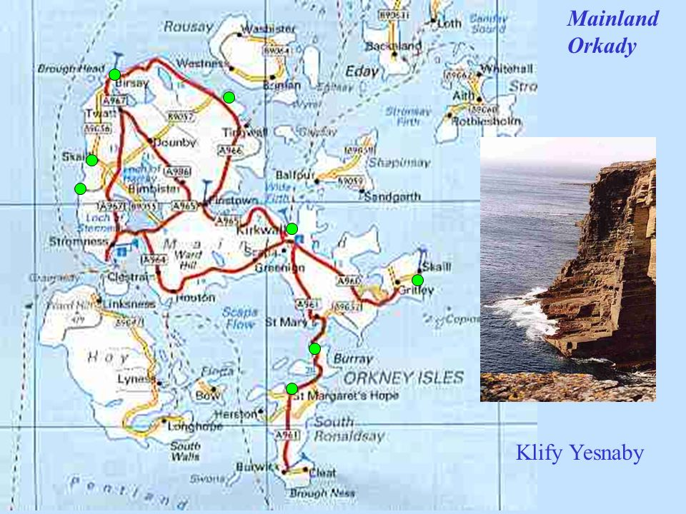 Mainland Orkady Klify Yesnaby