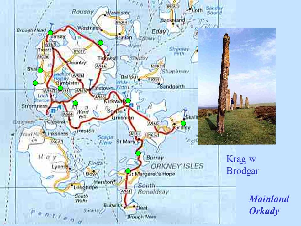 Krąg w Brodgar Mainland Orkady