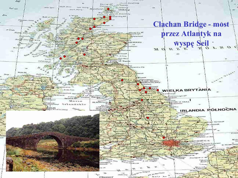Clachan Bridge - most przez Atlantyk na wyspę Seil