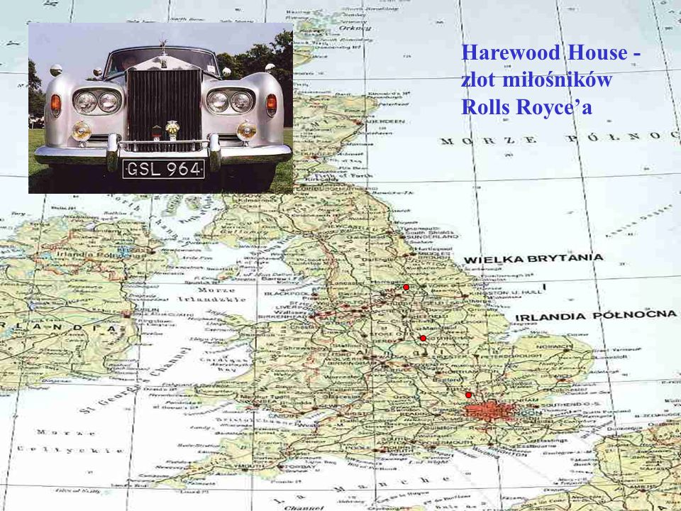 Harewood House - zlot miłośników Rolls Royce'a