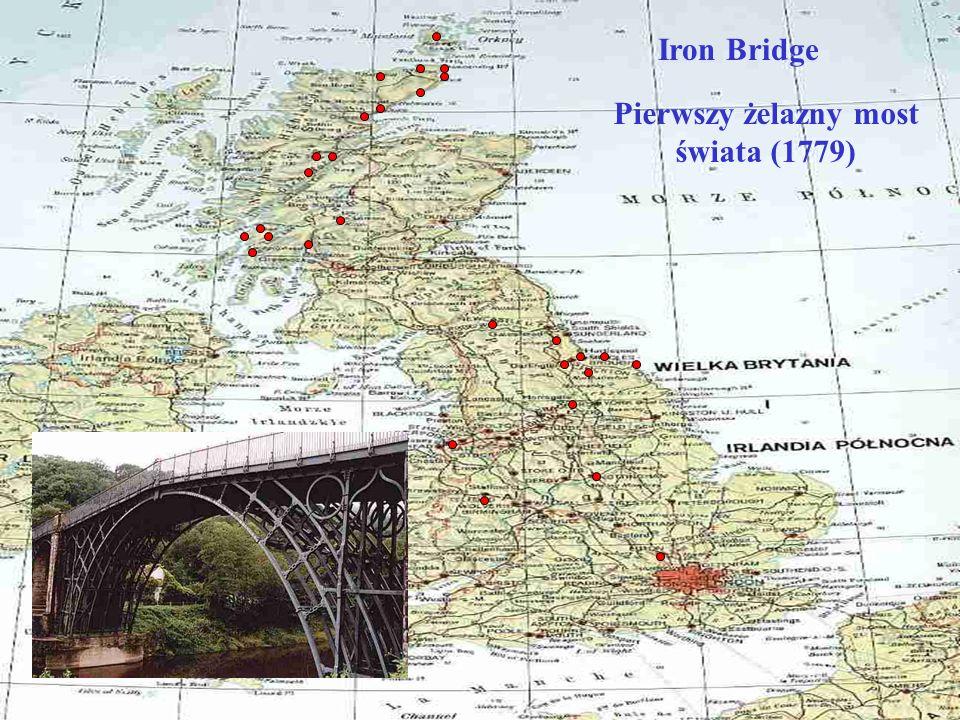Pierwszy żelazny most świata (1779)
