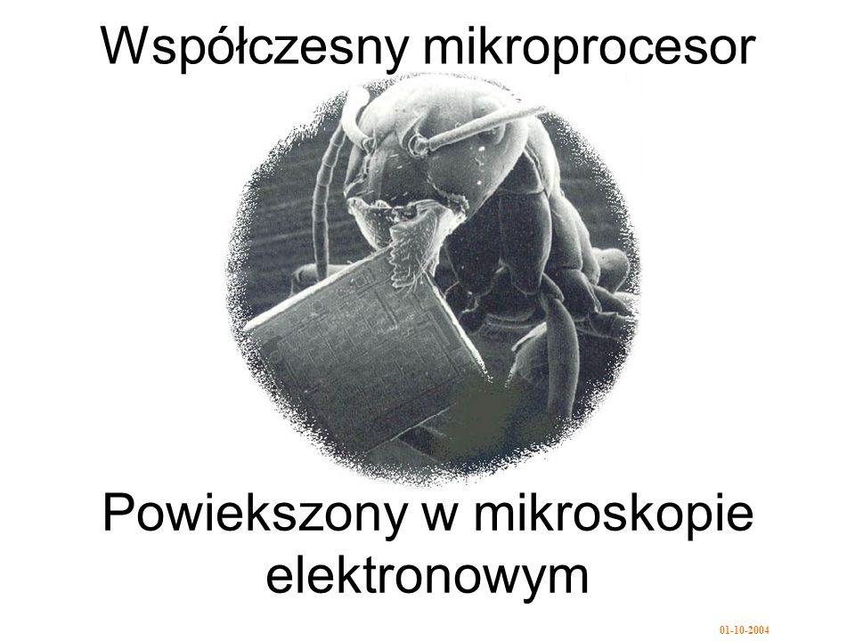 Współczesny mikroprocesor