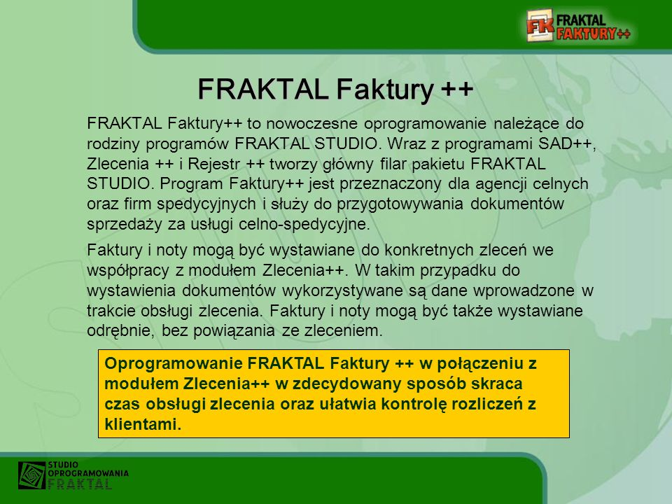 FRAKTAL Faktury ++