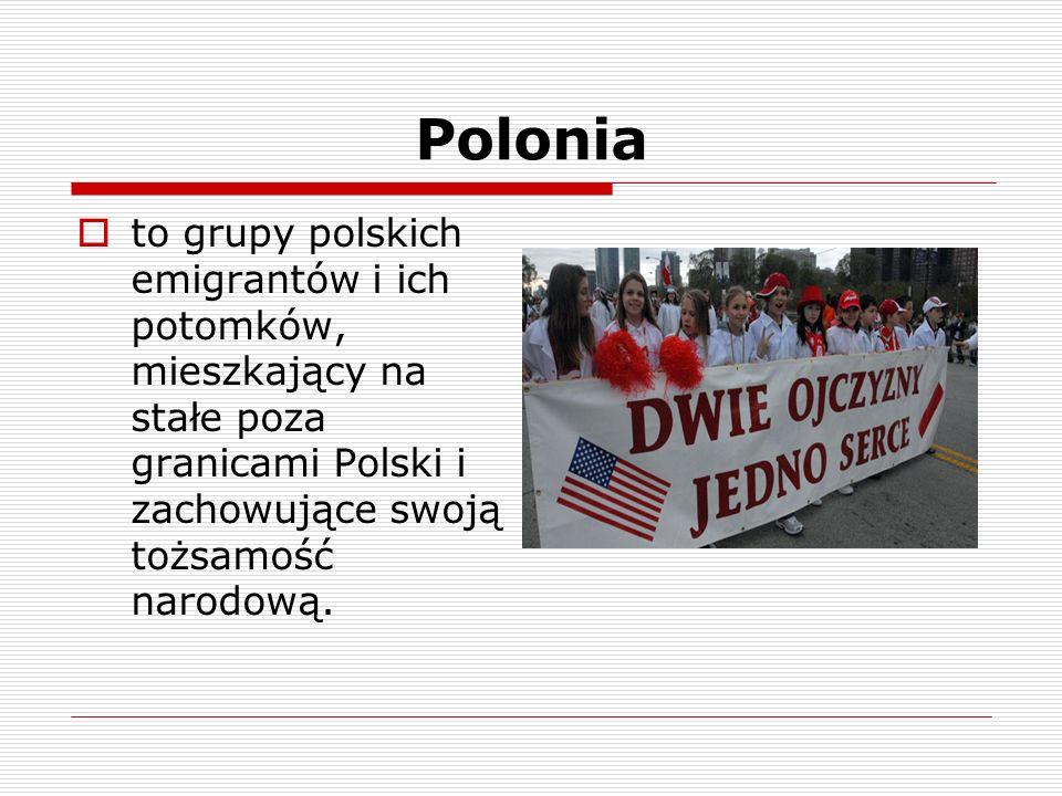 Poloniato grupy polskich emigrantów i ich potomków, mieszkający na stałe poza granicami Polski i zachowujące swoją tożsamość narodową.