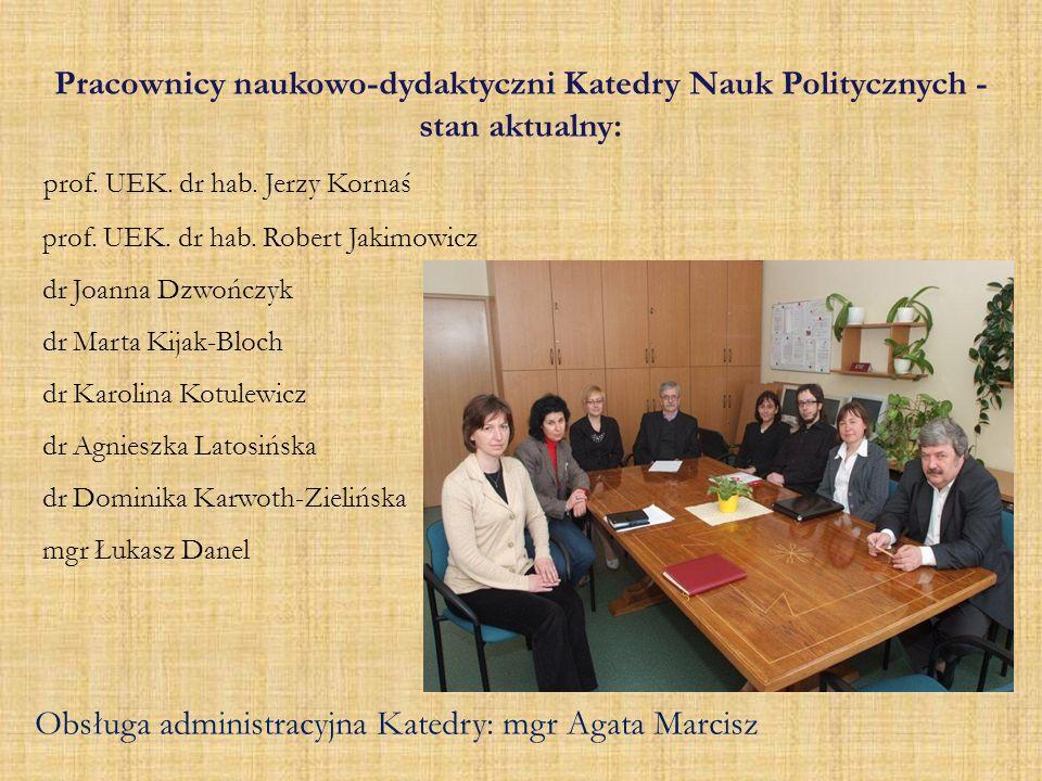 prof. UEK. dr hab. Jerzy Kornaś