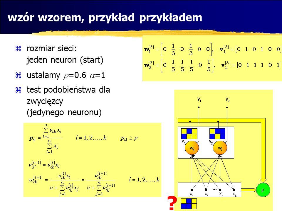 wzór wzorem, przykład przykładem