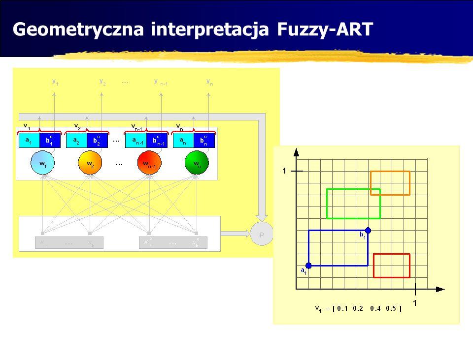 Geometryczna interpretacja Fuzzy-ART