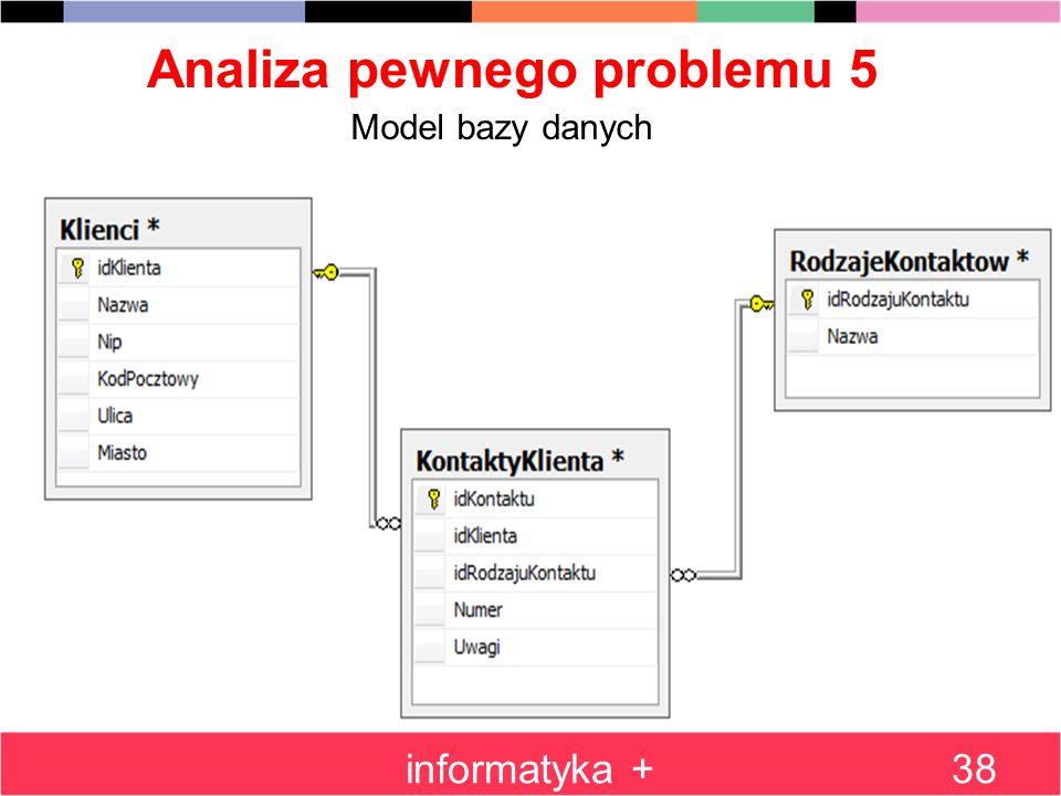 Analiza pewnego problemu 5