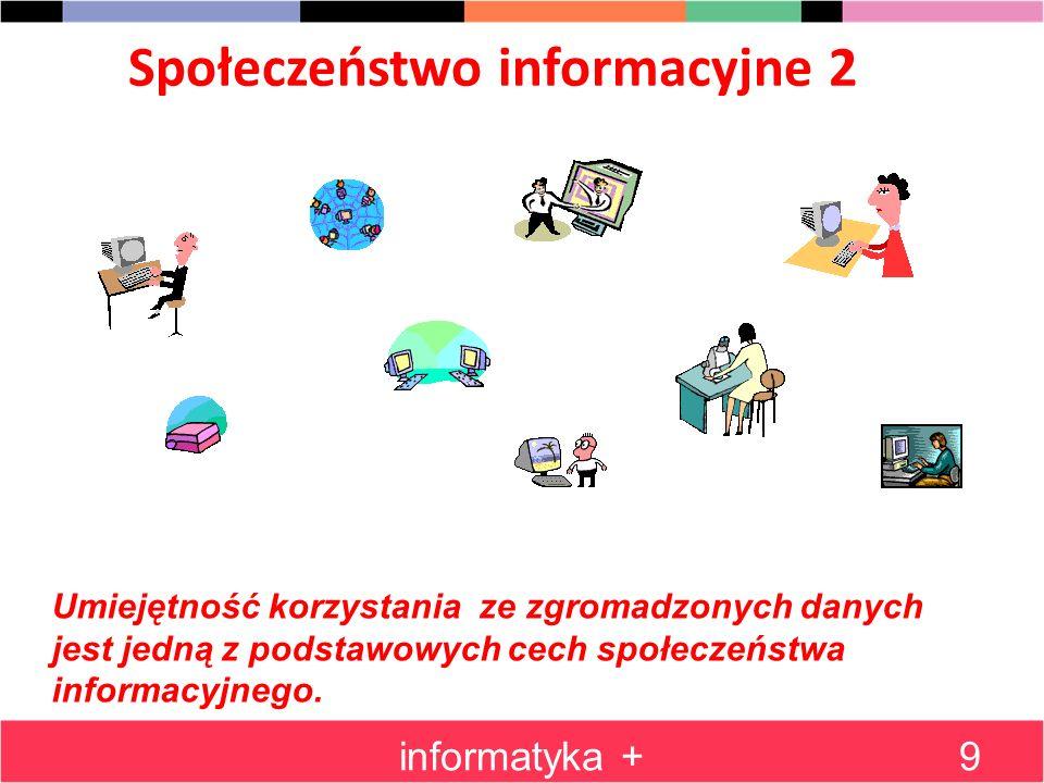 Społeczeństwo informacyjne 2