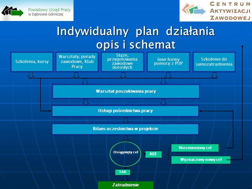 Indywidualny plan działania opis i schemat