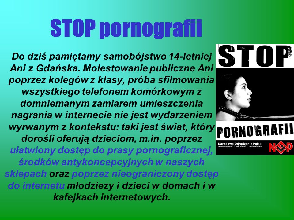 STOP pornografii