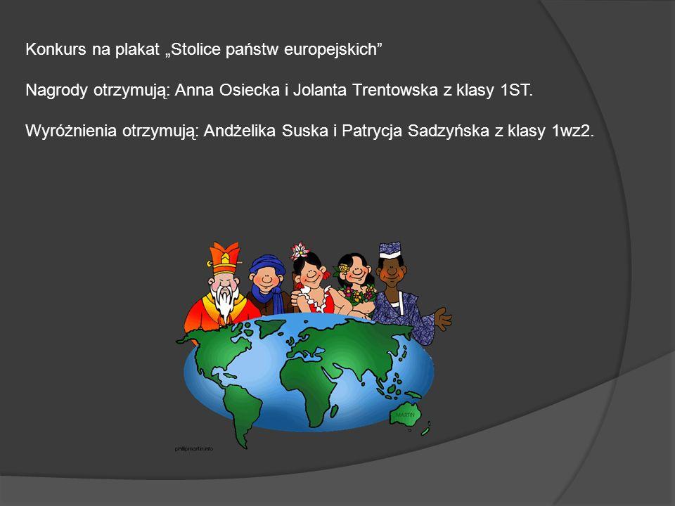 """Konkurs na plakat """"Stolice państw europejskich"""