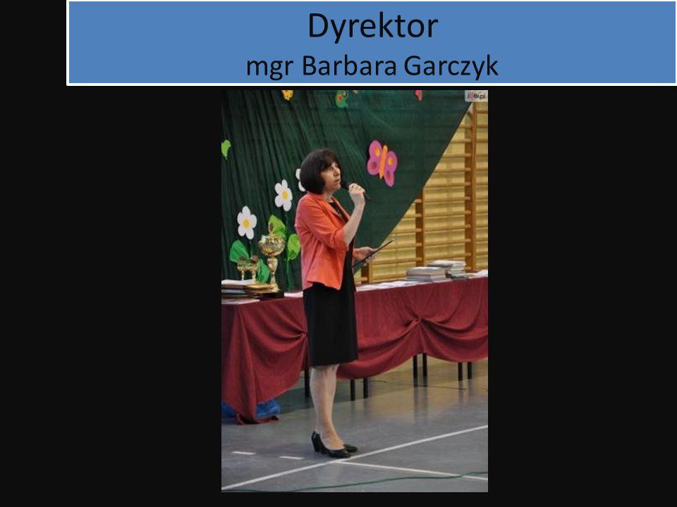 Dyrektor mgr Barbara Garczyk