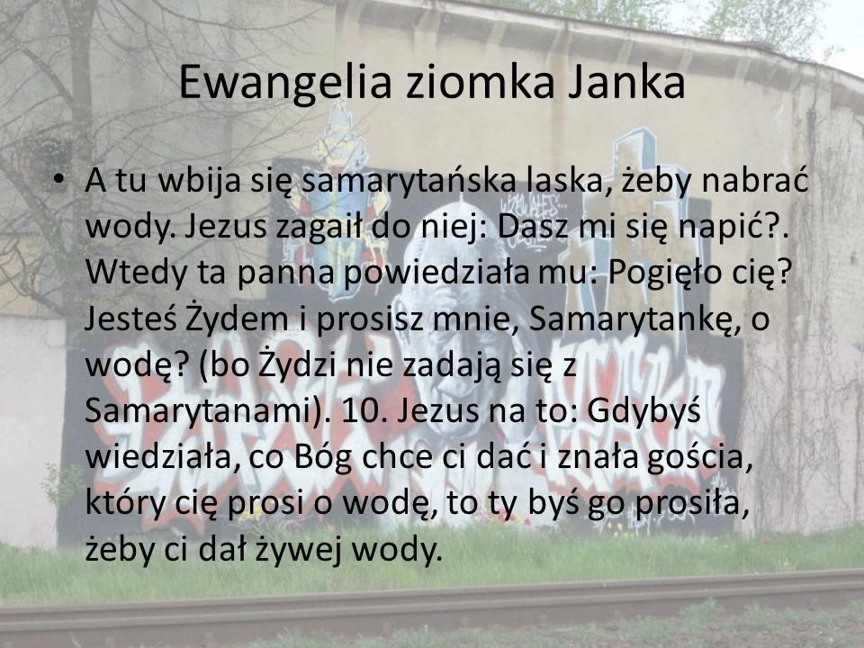 Ewangelia ziomka Janka