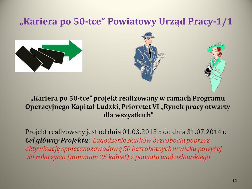 """""""Kariera po 50-tce Powiatowy Urząd Pracy-1/1"""