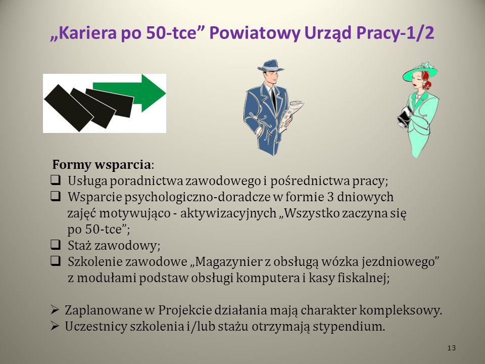 """""""Kariera po 50-tce Powiatowy Urząd Pracy-1/2"""
