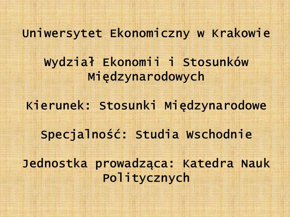 Uniwersytet Ekonomiczny w Krakowie