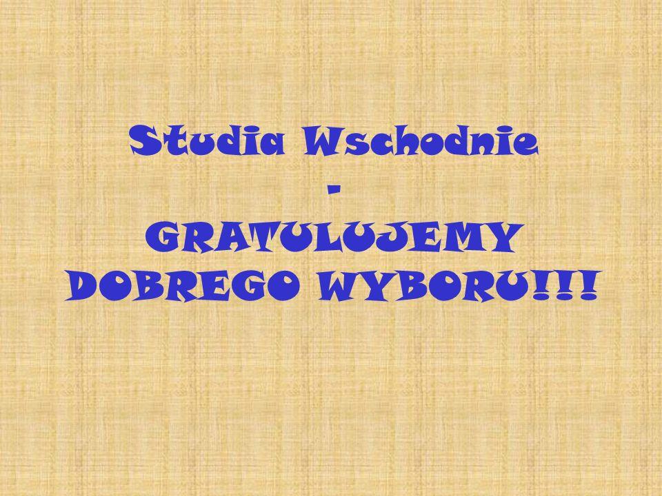 GRATULUJEMY DOBREGO WYBORU!!!