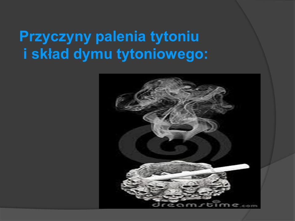 Przyczyny palenia tytoniu