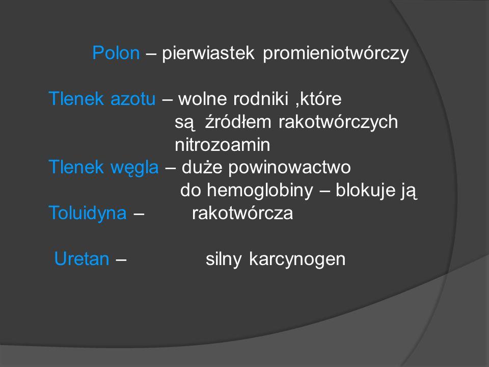Polon – pierwiastek promieniotwórczy