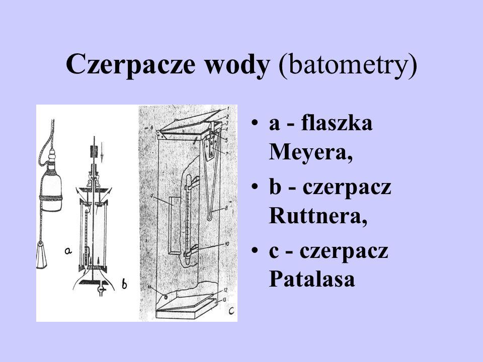 Czerpacze wody (batometry)