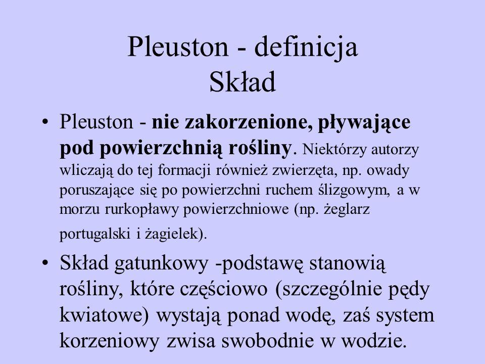 Pleuston - definicja Skład