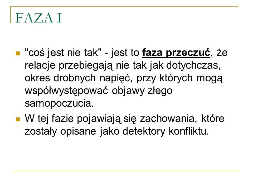 FAZA I
