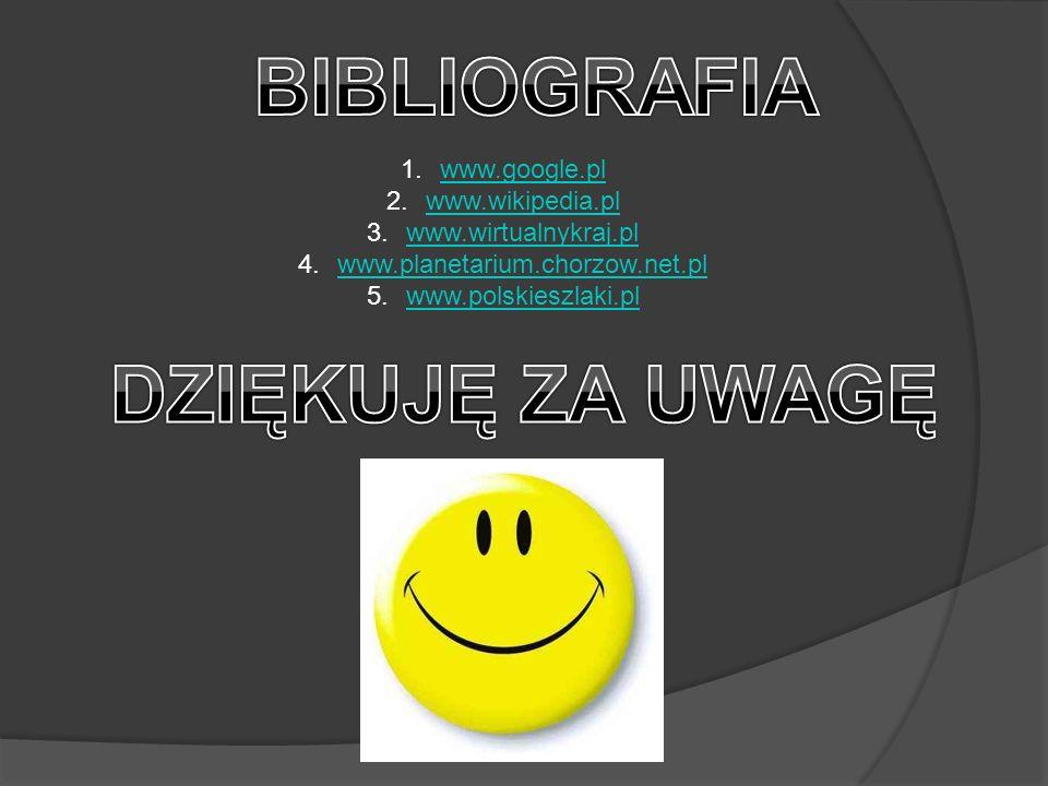 BIBLIOGRAFIA DZIĘKUJĘ ZA UWAGĘ