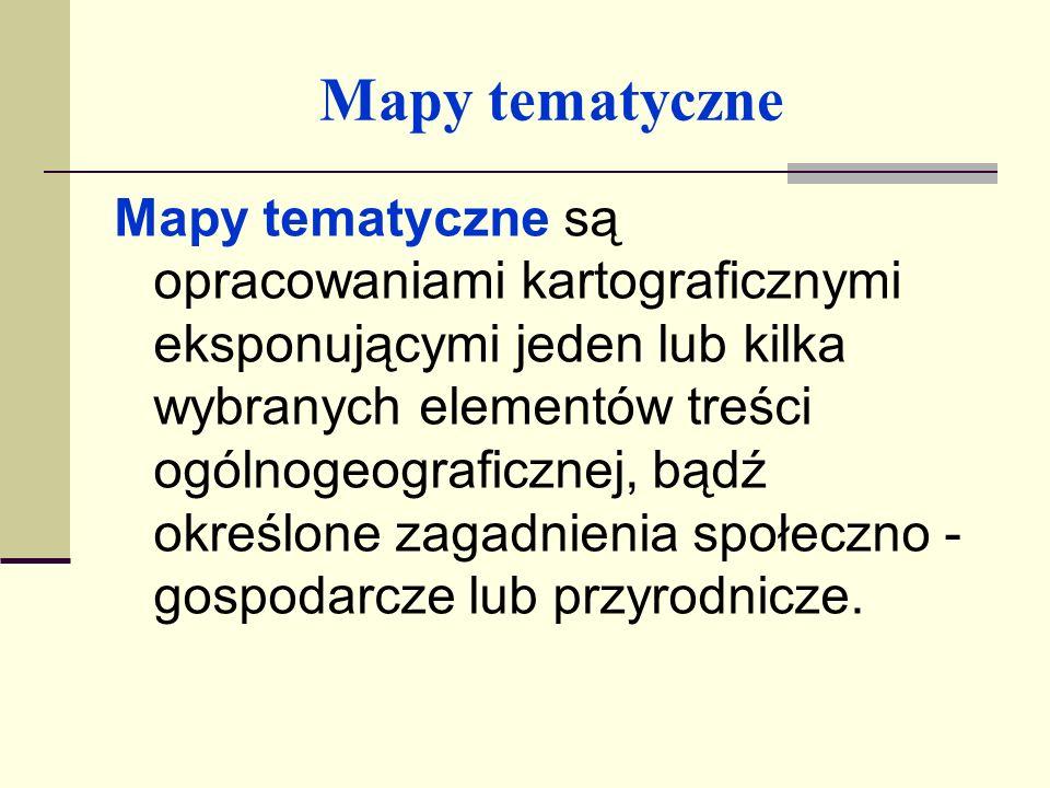 Mapy tematyczne