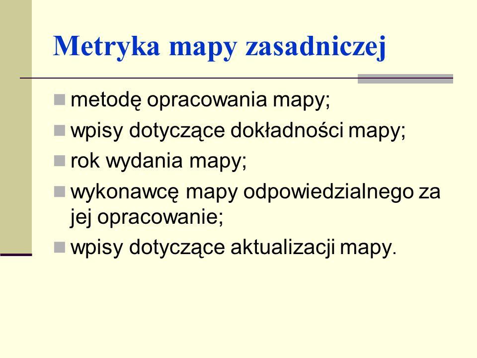 Metryka mapy zasadniczej