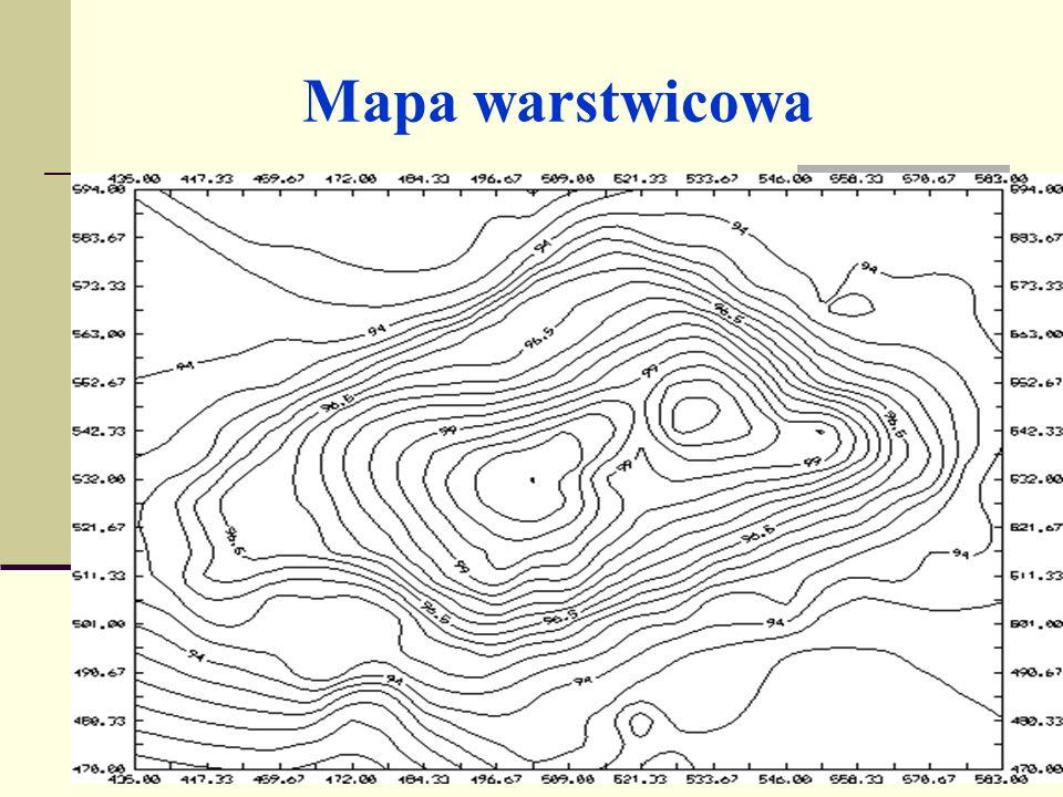 Mapa warstwicowa