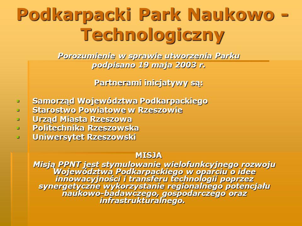 Podkarpacki Park Naukowo - Technologiczny