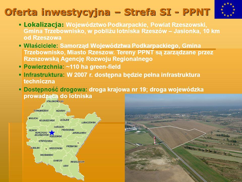 Oferta inwestycyjna – Strefa SI - PPNT