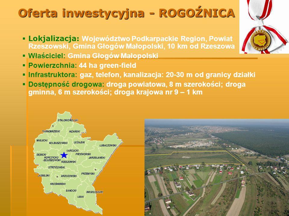 Oferta inwestycyjna - ROGOŹNICA