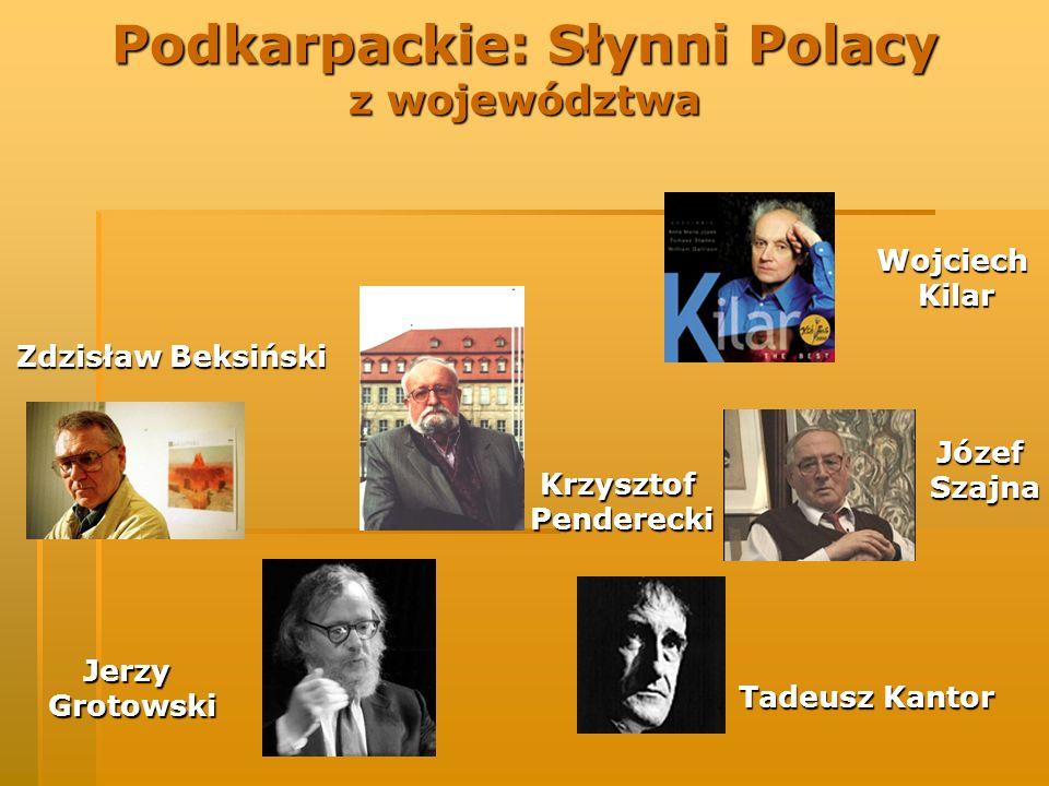 Podkarpackie: Słynni Polacy