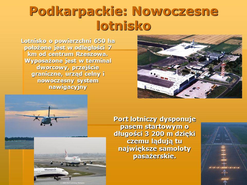 Podkarpackie: Nowoczesne lotnisko