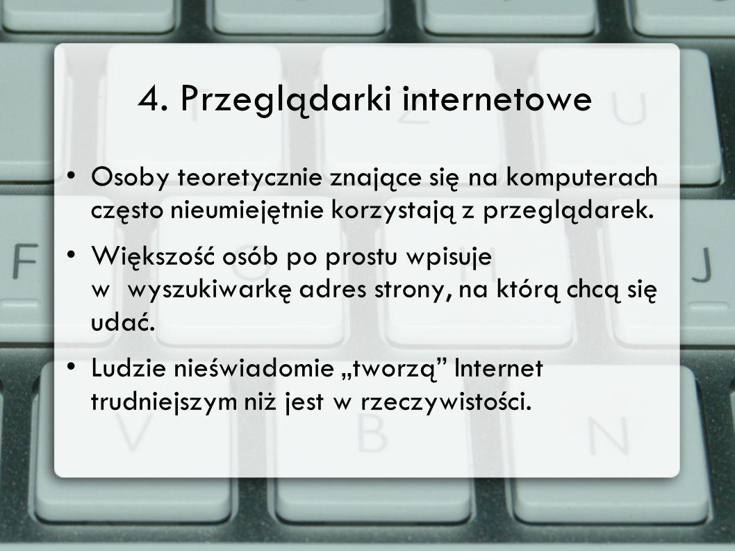 4. Przeglądarki internetowe