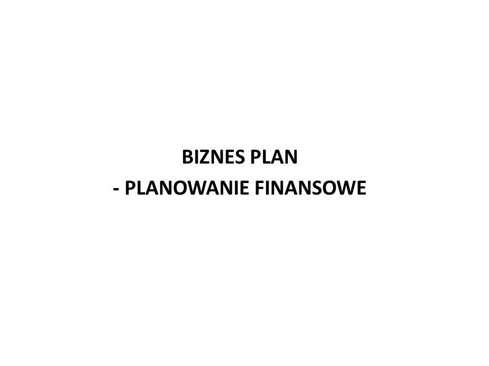 - PLANOWANIE FINANSOWE