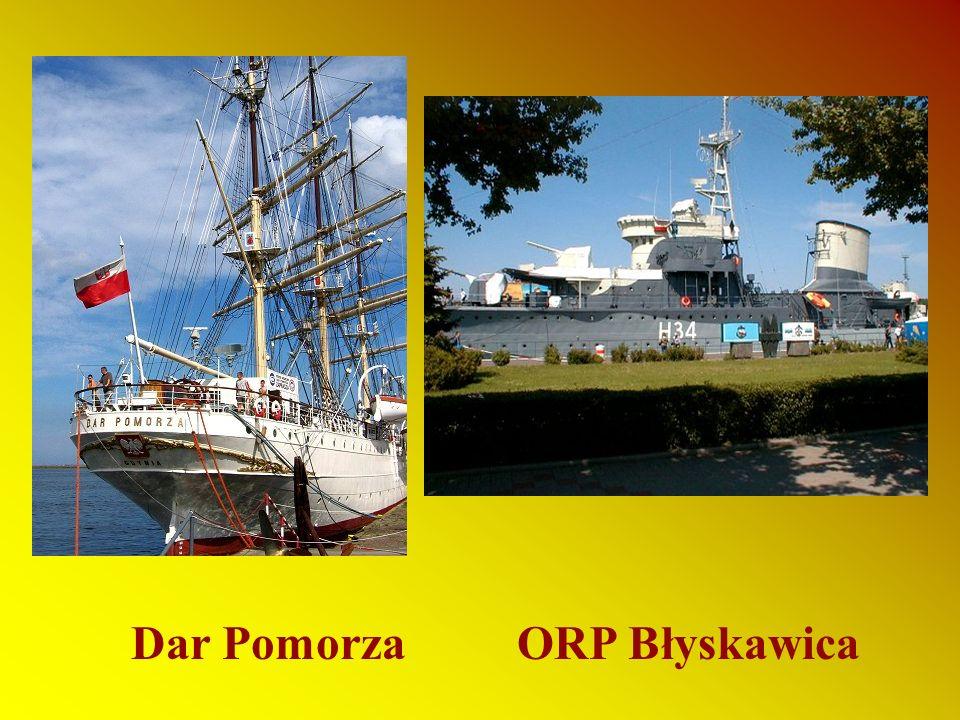 Dar Pomorza ORP Błyskawica