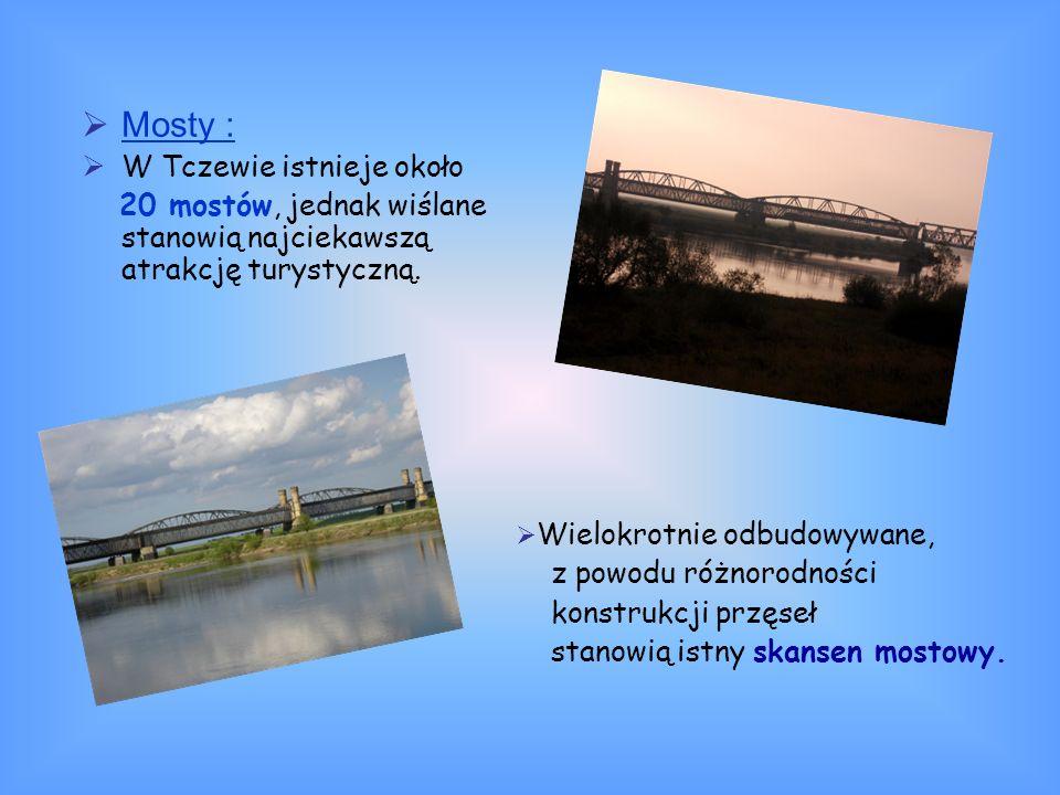 Mosty : W Tczewie istnieje około
